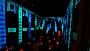 270 degree video mapping