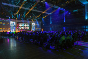 Audio visual concept for conferences