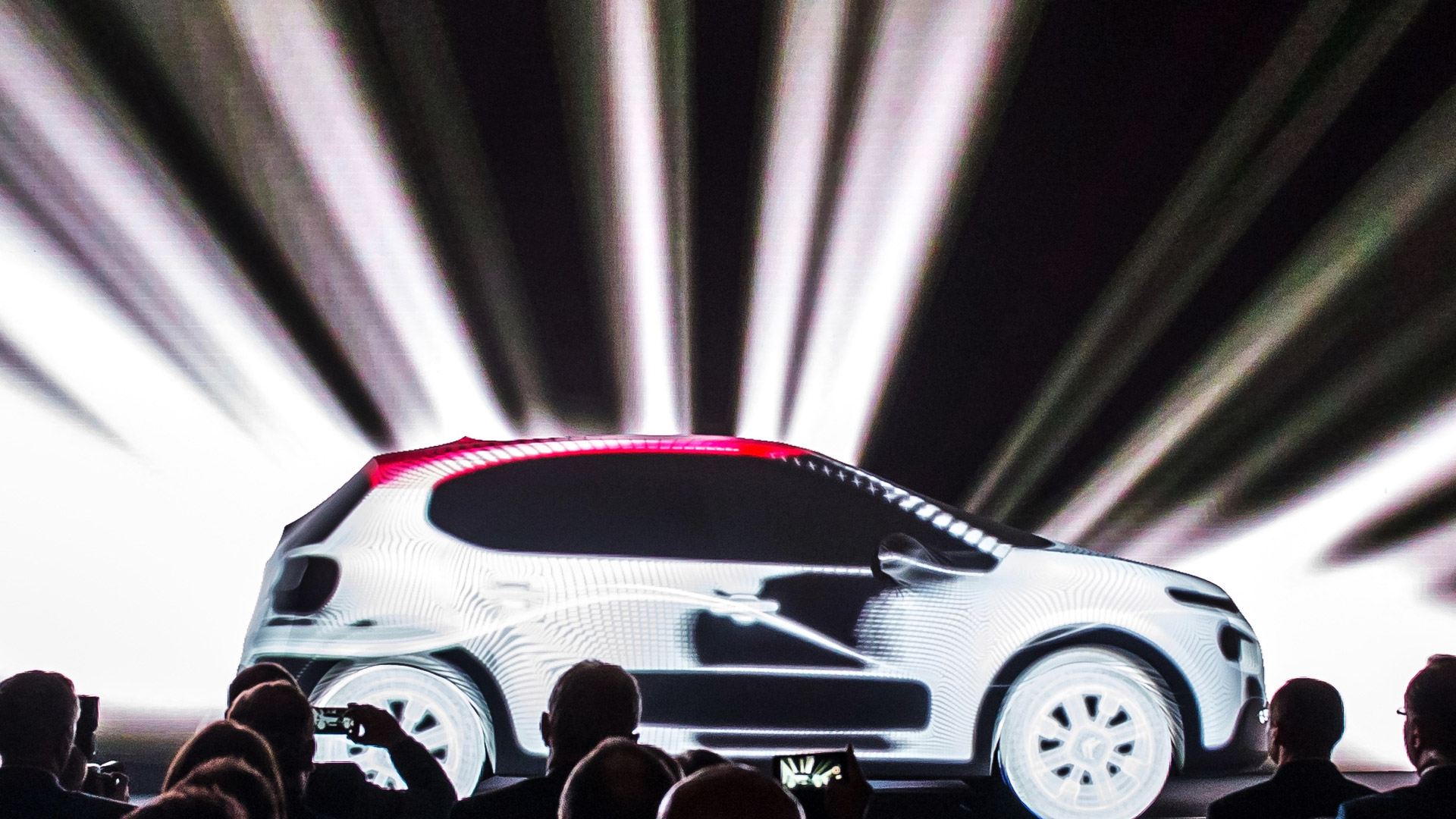 Citroen product launch mapping