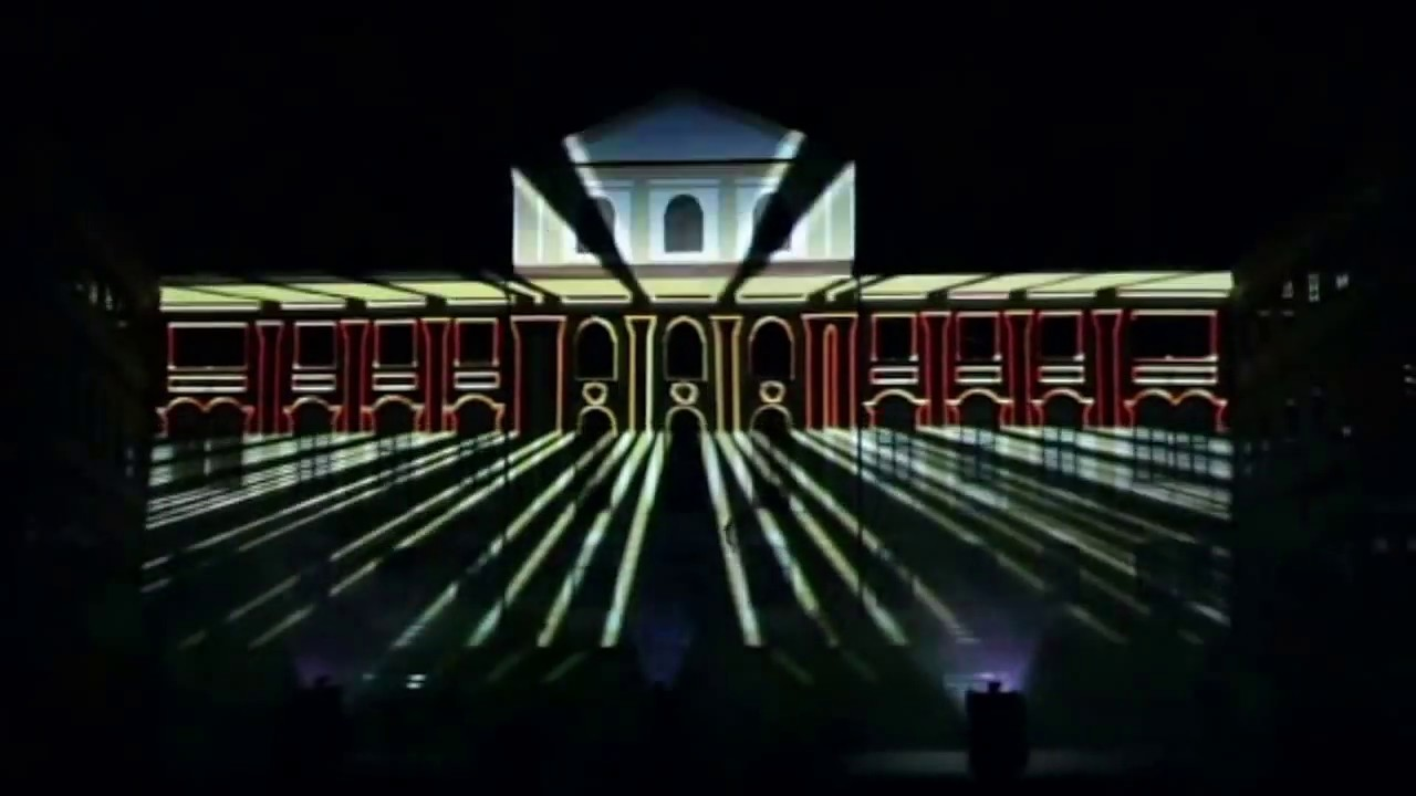 Video mapping showreel