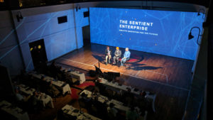 270 degree projection mapping conference