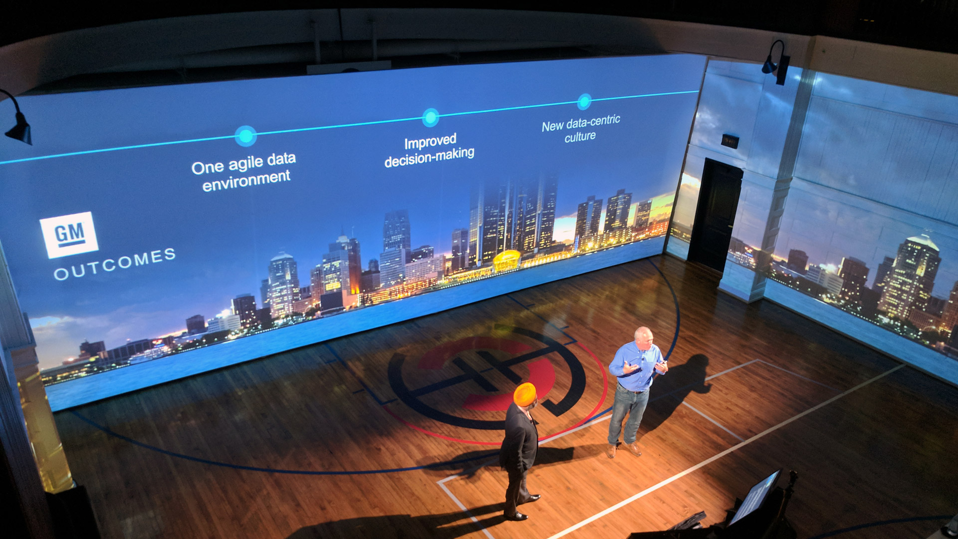 Conference projection mapping Chicago