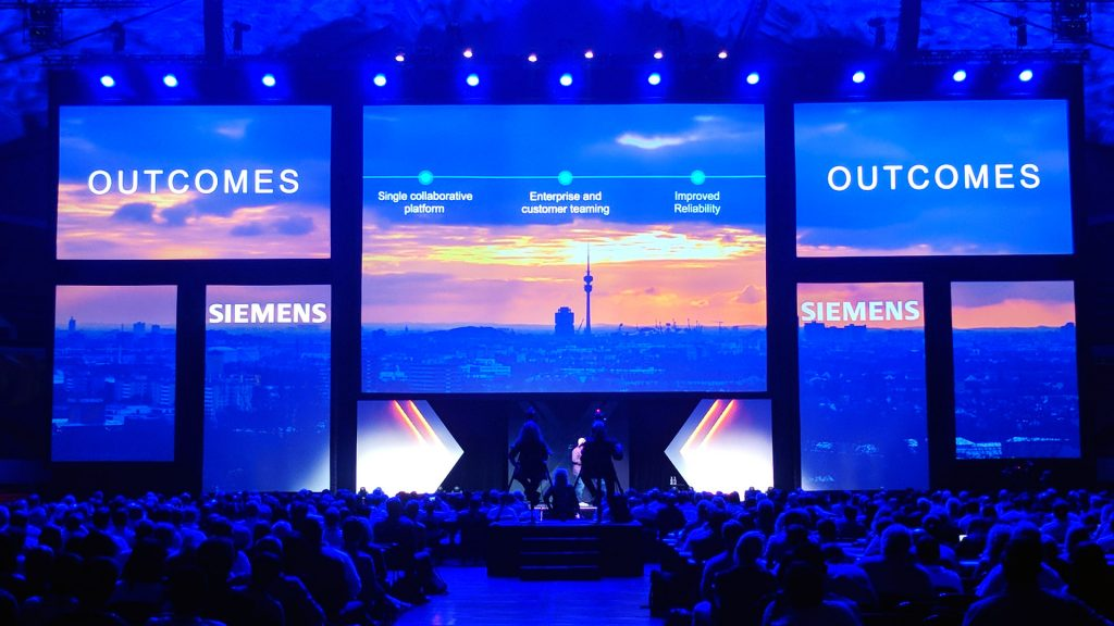 Anaheim conference projection mapping