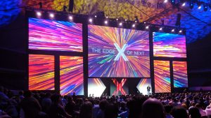 Multiple screens projection mapping