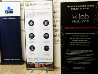 XLAB Realtime sponsoring a ballroom projection mapping